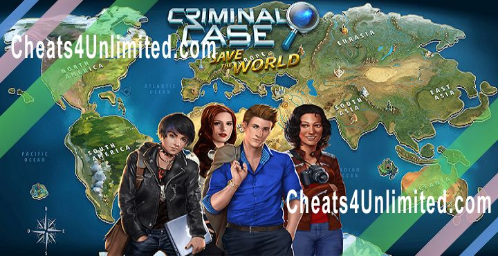 Criminal Case: Save the World Hack Coins, Stars, Energy