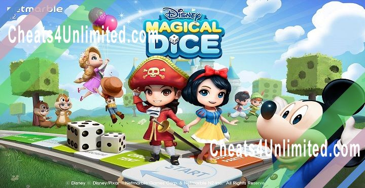 Disney Magical Dice Hack Gold, Diamonds