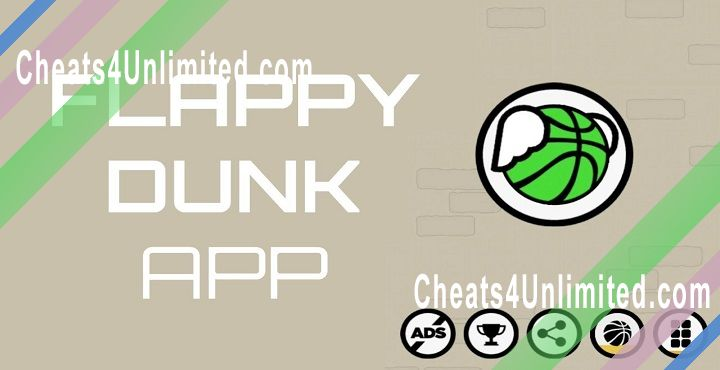 Flappy Dunk Hack Swish, Unlock All Balls