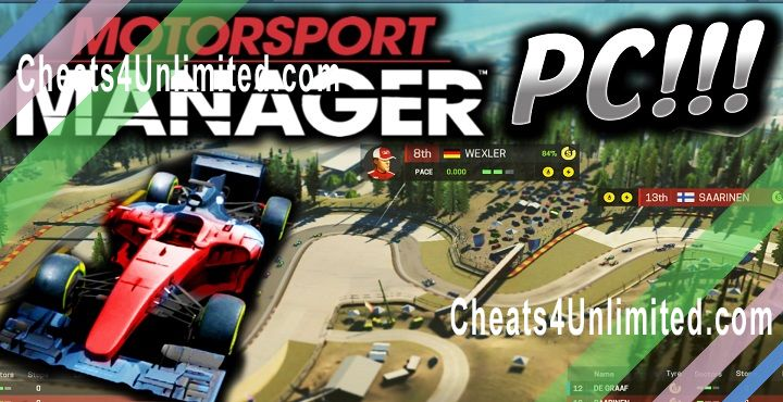 Motorsport Manager Cheats >> Top 4 Motorsport Manager Hacks And Cheat Codes