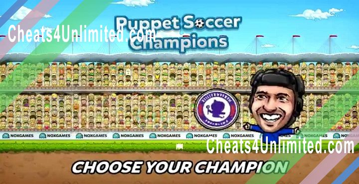 Puppet Soccer Champions Hack Diamonds, Coins